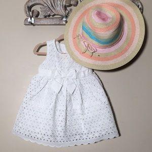 Gymboree baby girl Easter dress